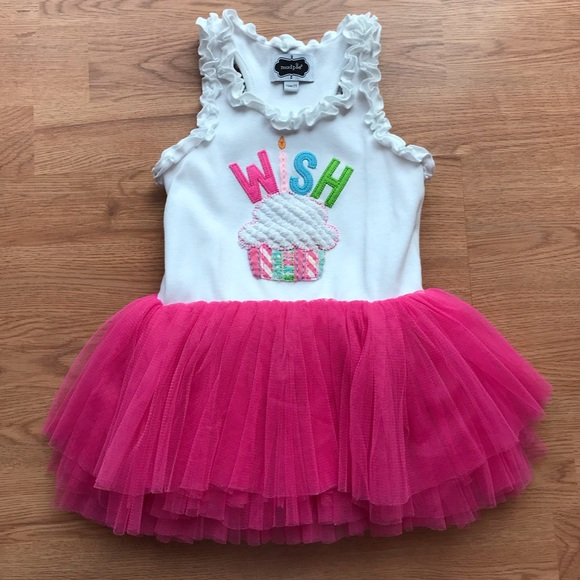 Mud Pie Birthday Tutu Dress M 5be7356812cd4a709c5c9f93